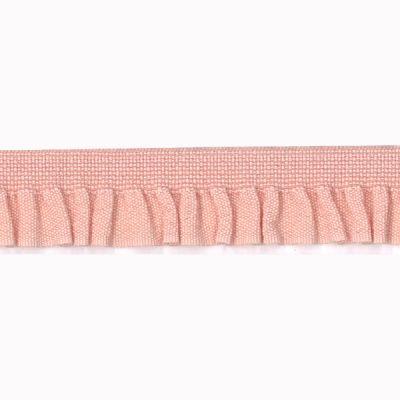 Rüschenband Emma apricot elastisch 11 mm breit