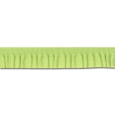 Rüschenband Emma hellgrün 11 mm breit