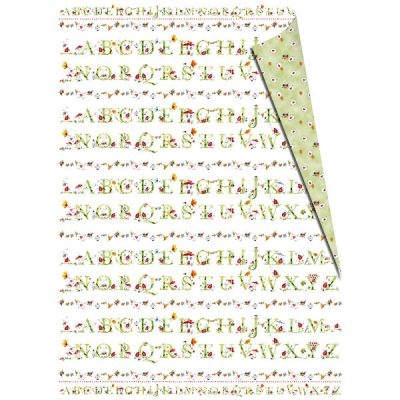 Geschenkpapier-Set Lotti Alphabet