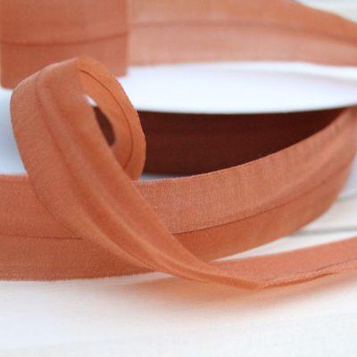Organza-Einfassband elast. rost 24 mm