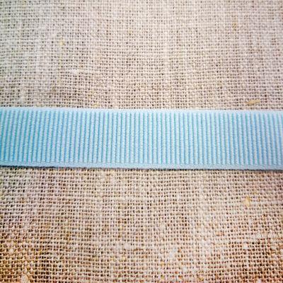 Ripsband elastisch hellblau 15 mm