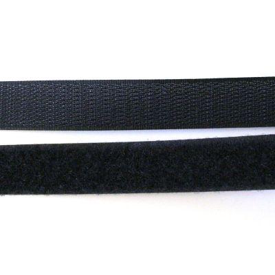 Band Klettverschluss schwarz 20mm