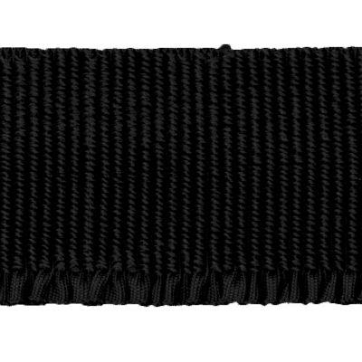 Abschlussbund elastisch, schwarz
