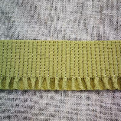 Abschlussbund elastisch, 35mm breit gold