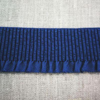 Abschlussbund elastisch, 35mm breit lilablau