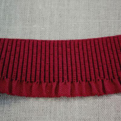 Abschlussbund elastisch, 35mm breit rot