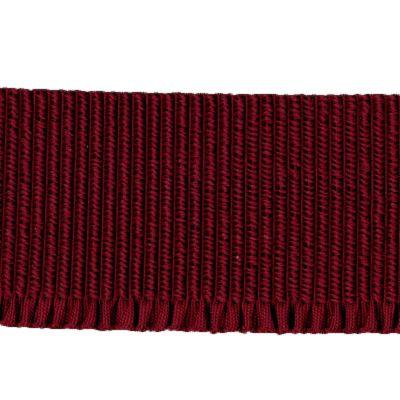 Abschlussbund elastisch, 35mm breit weinrot
