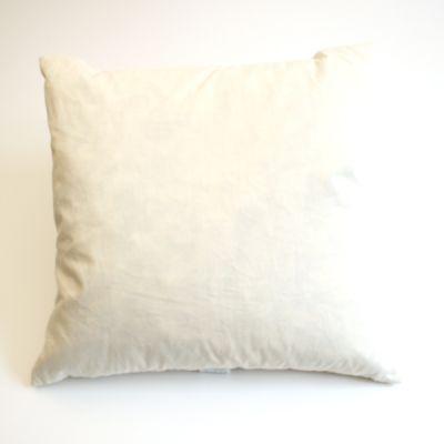 Inlett weiß 40 x 40 cm 250 g Halbdaune