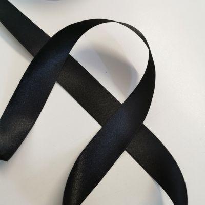 Satinband schwarz 25 mm breit !!