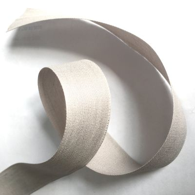 Webband Batiste grau 30mm breit