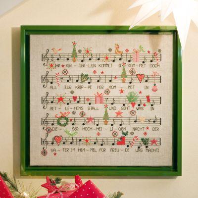 Stickpackung Weihnachtslied
