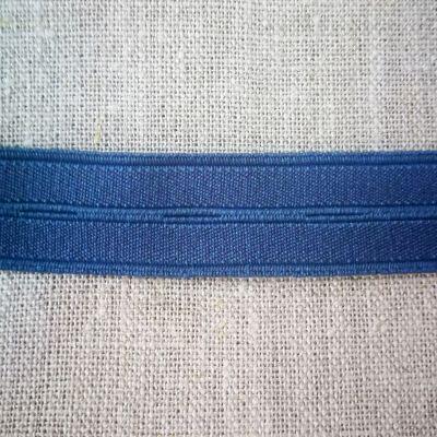 elastisches Knopflochband blau 19 mm breit