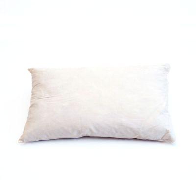 Inlett weiß 30 x 60 cm Halbdaune