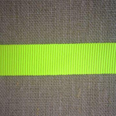 Ripsband GrosGrain neongelb
