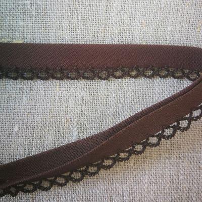 Isotta Band/Spitze 14 mm braun