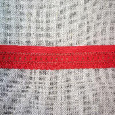 Ester Stretch Lochband 17 mm rot