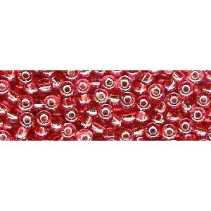 Perlen rot metallic