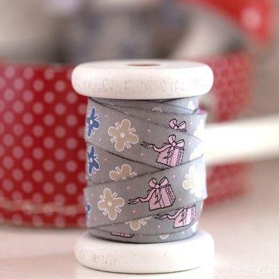 Webband Geschenke Ornamente 16 mm breit