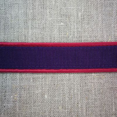 Rachel Ripsband 15 mm lila-pink