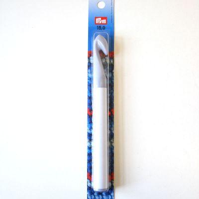 Wollhäkelnadel o.Griff 15mm  grau