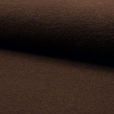 Gekochte Wolle dunkelbraun