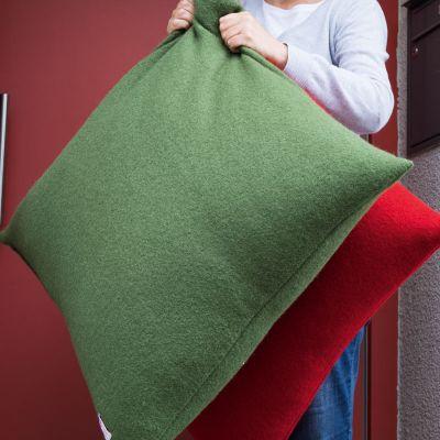Material-Set Bodenkissen Grün