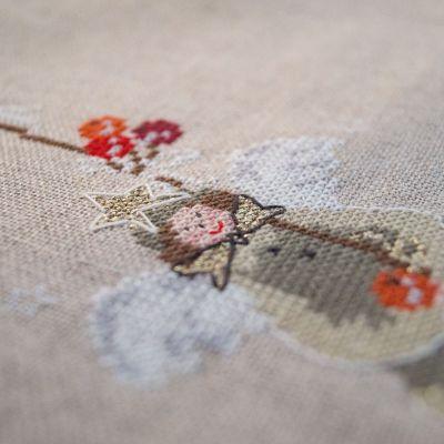 Materialset Himmlisches Deckchen mit Engel