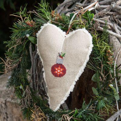 Materialset Glocke und Herz