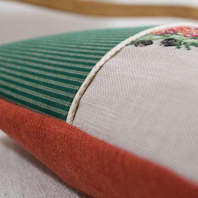 Materialset Minikissen mit Kränzchen