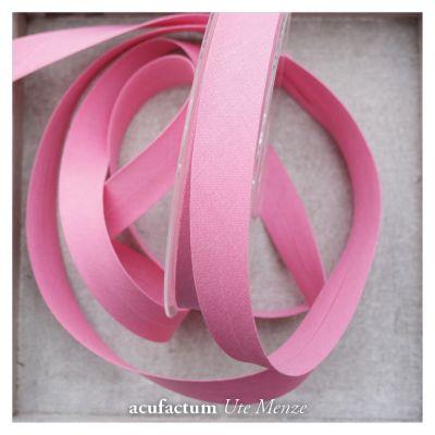 Schrägband pink 20 mm breit