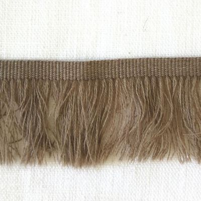 Ripsband mit Fransen 40 mm breit