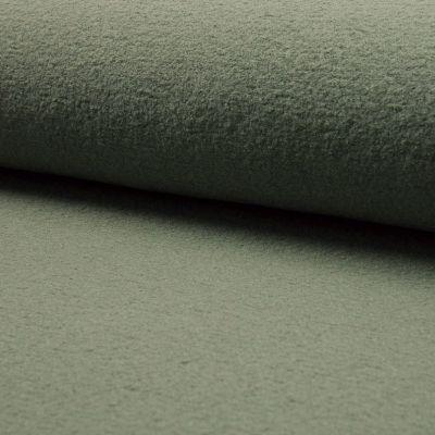 gekochte Wolle, 140 cm breit, khaki