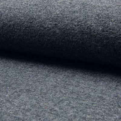 gekochte Wolle, 140 cm breit anthrazith