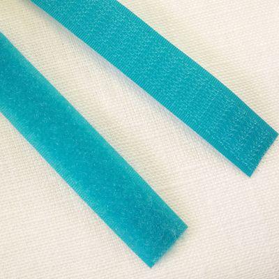 Band Klettverschluss türkis 20 mm breit
