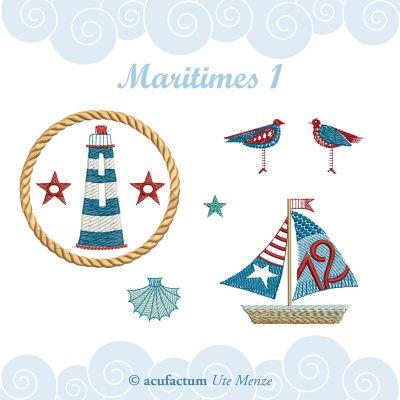 Stickdatei Maritimes 1
