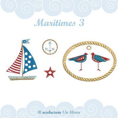 Stickdatei Maritimes 3