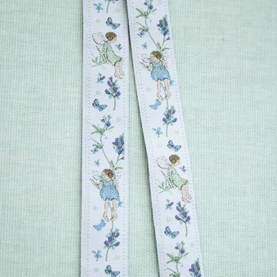 Webband Blütenelfen 16 mm breit