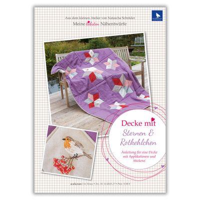 E-Anleitung Decke mit Sternen & Rotkehlchen
