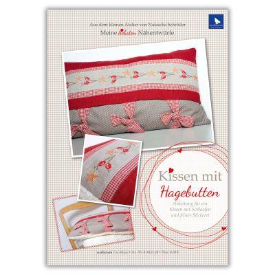 E-Anleitung Kissen mit Hagebutten