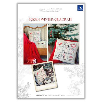 E-Anleitung Kissen Winter-Quadrate