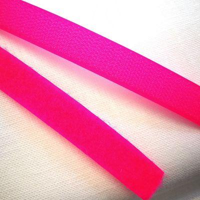 Band Klettverschluss pink 16mm breit