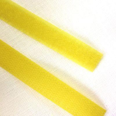 Band Klettverschluss gelb 16mm breit