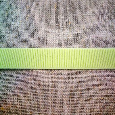 Ripsband elastisch hellgrün 15 mm