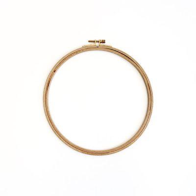 Holzstickring natur Durchmesser 21,5 cm/H 24