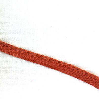 Band mit Geflecht orange 7mm