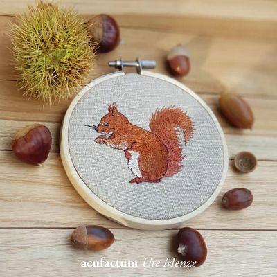 Stickdatei Eichhörnchen