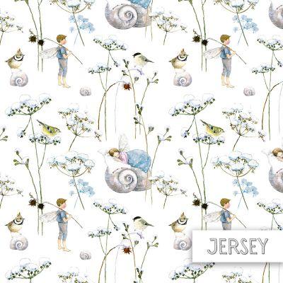 Jersey Elfenträume 145 - 150 cm breit