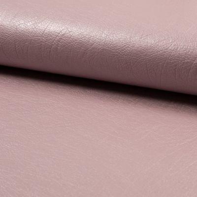 Kunstleder elastisch - rosé metallic