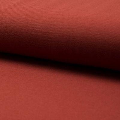Jersey Pique bordeaux, 155 cm breit