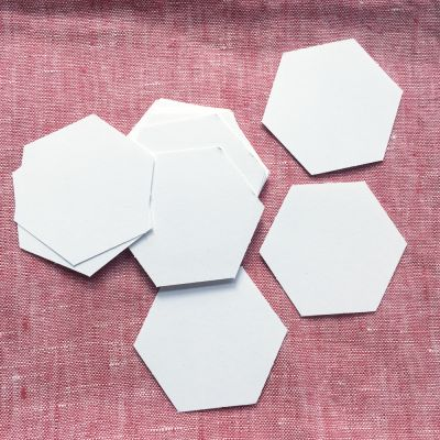 Hexagon Papierschablonen 1 inch